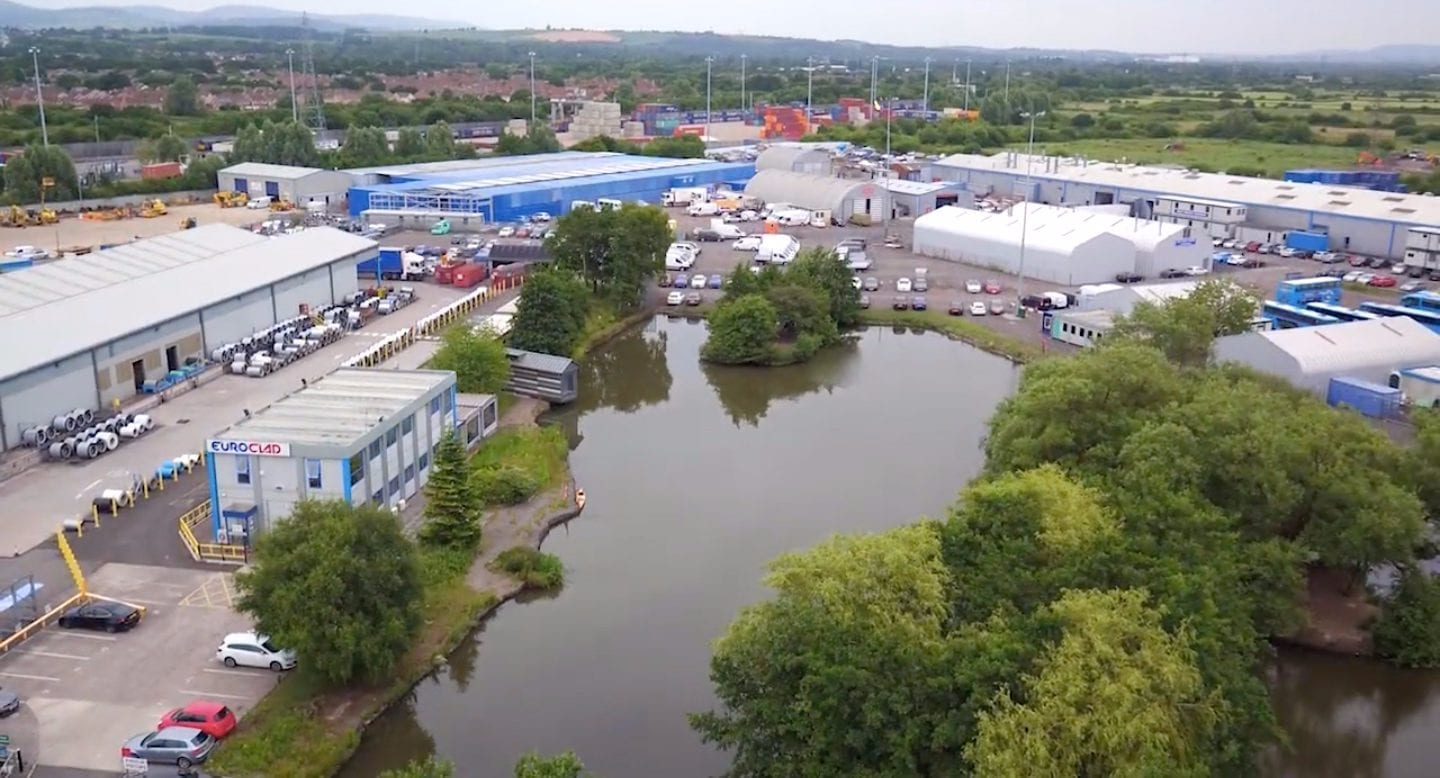 blue self storage in cardiff - our facility