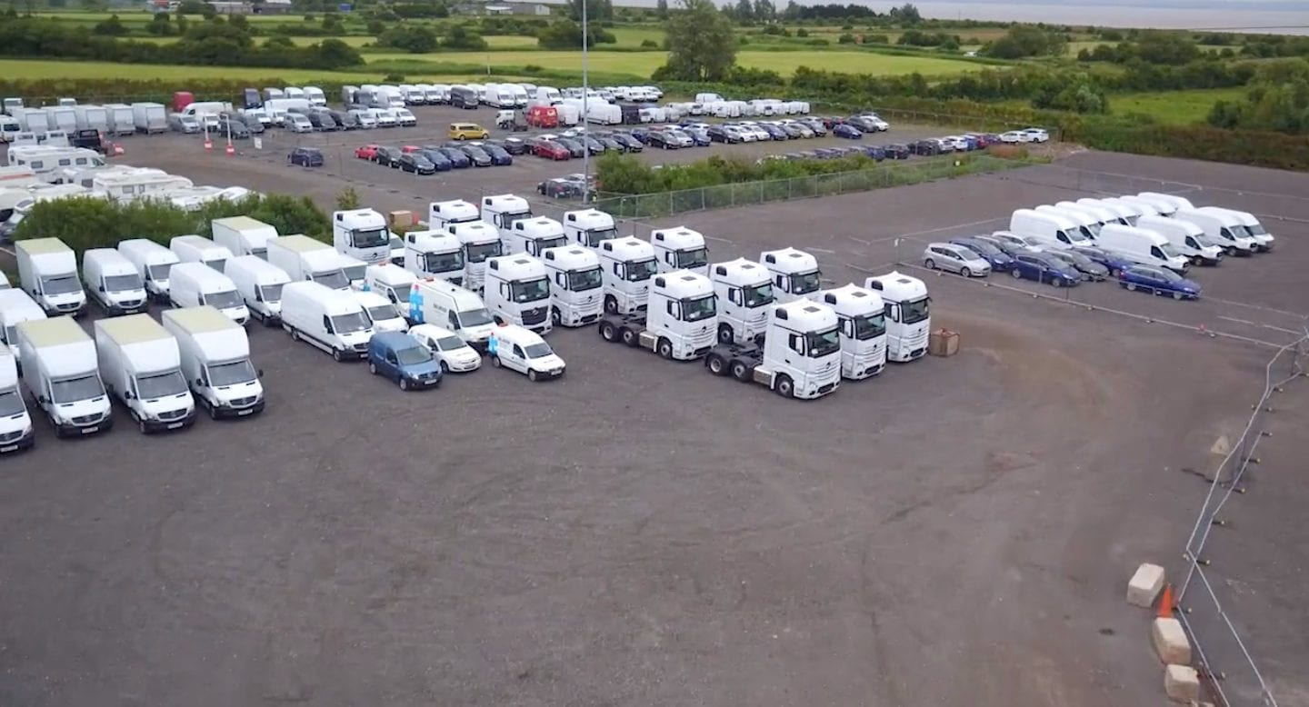 blue self storage in cardiff - our HGV and lorry storage