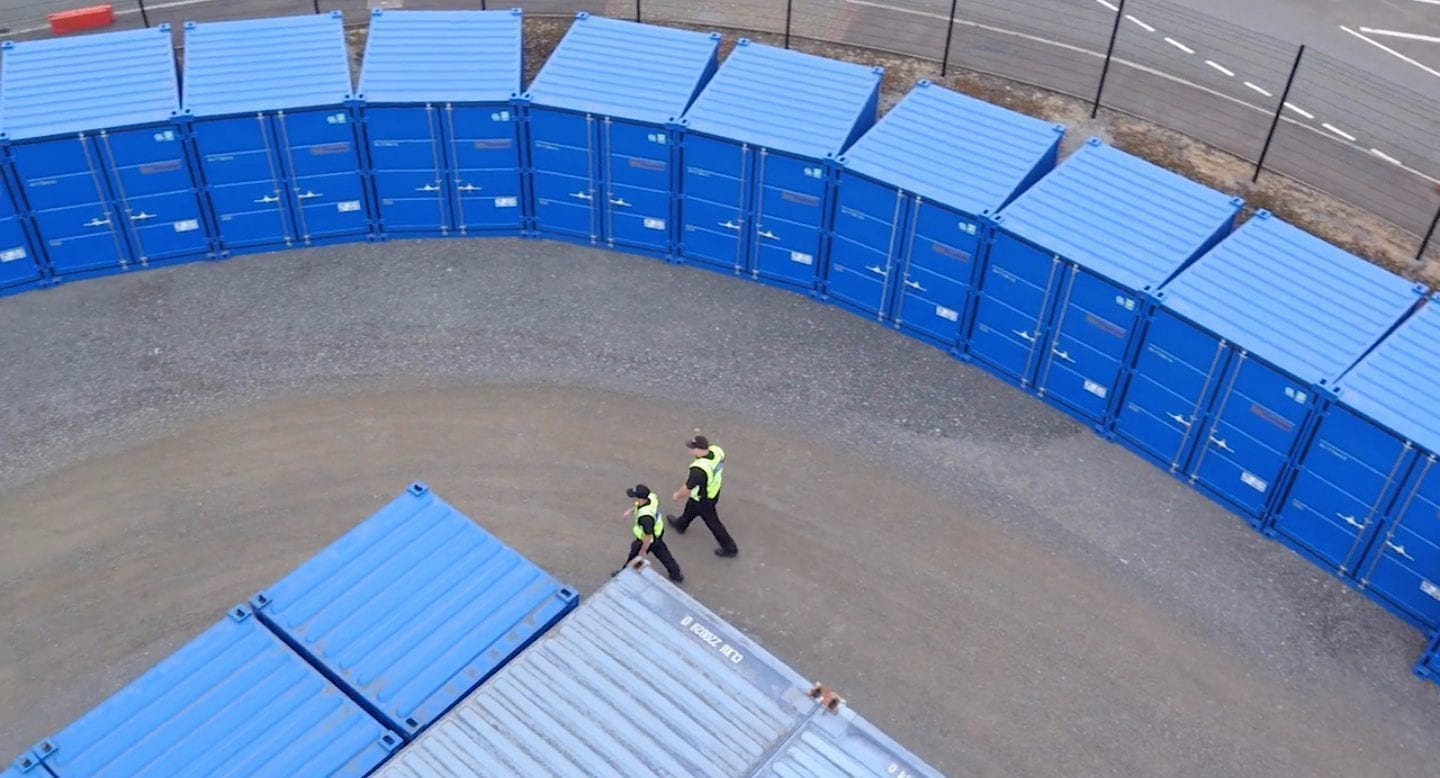 blue self storage in cardiff - our security patrols
