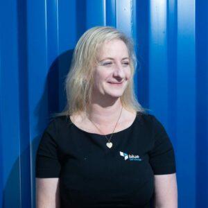 Sharon, Storage Coordinator at blue self storage in Cardiff