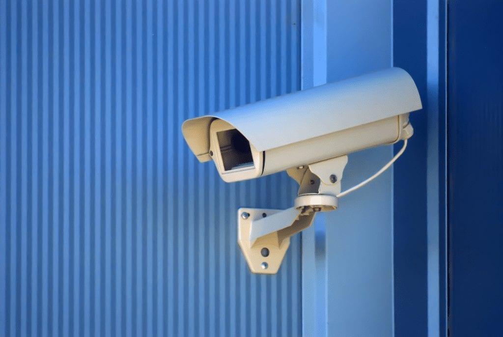24/7 security surveillance at any storage facility - camera