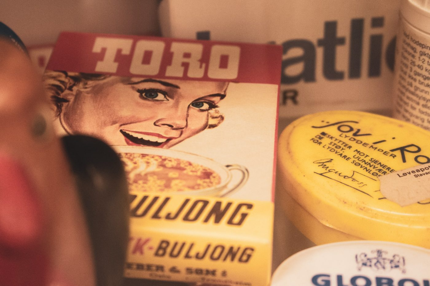'Does it spark joy?' How to get rid of sentimental possessions - photo of old vintage packaging