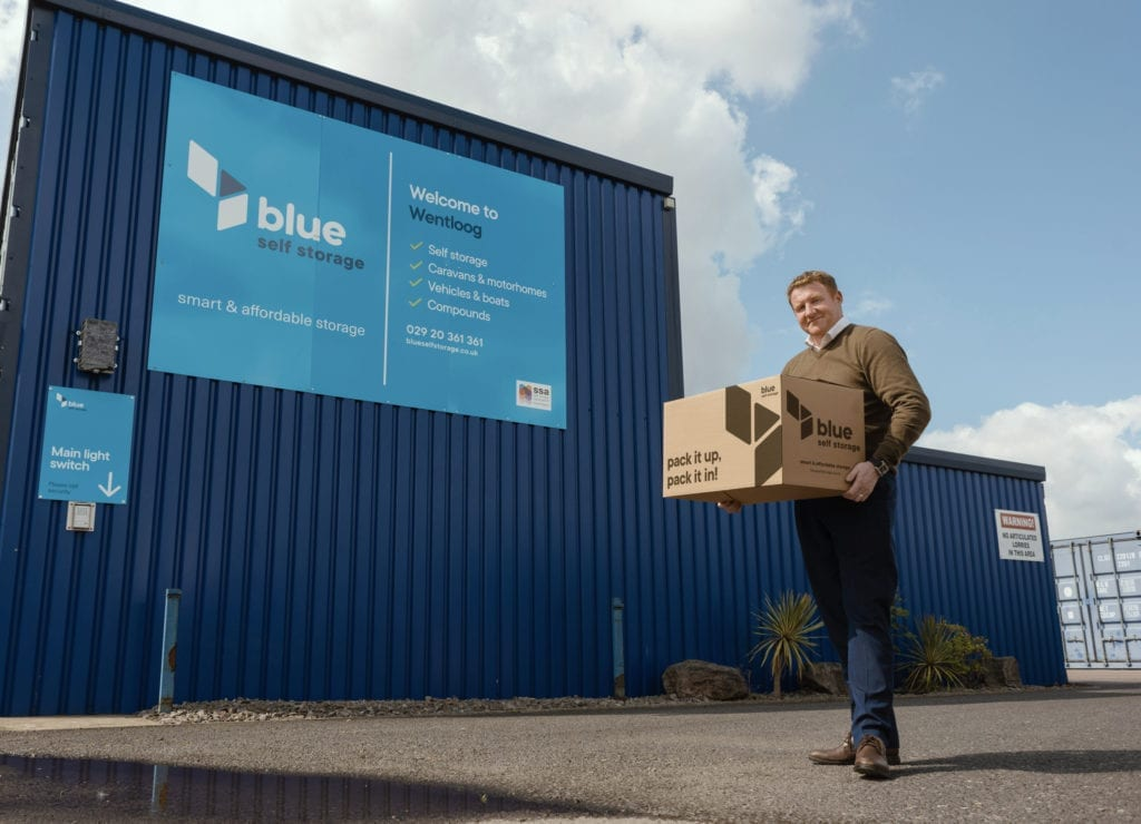 Dean Daly joins blue self storage in Cardiff as Operations Manager