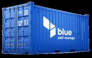 Cheap self storage in Cardiff - blue self storage