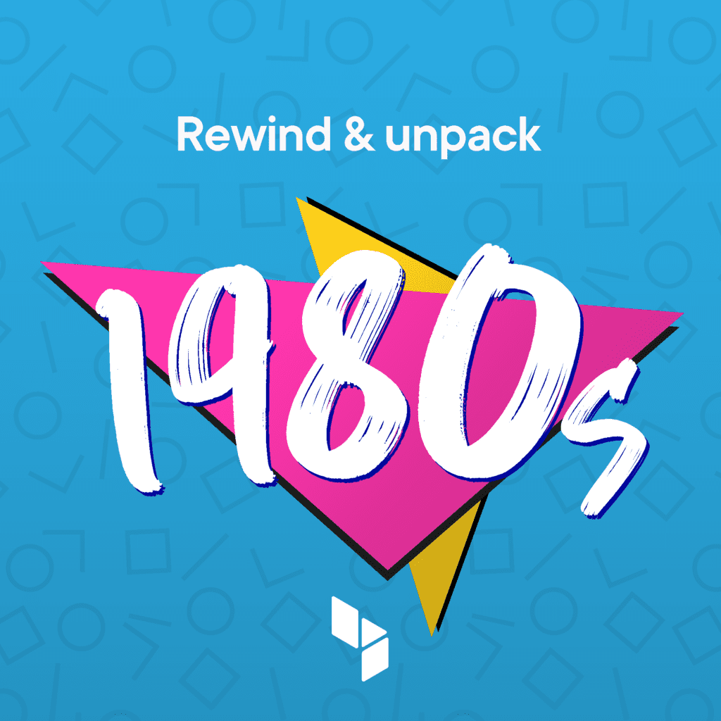 Rewind & unpack: 1980s anthems playlist from blue self storage - cover image