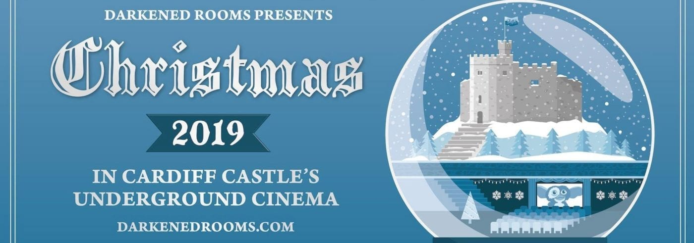 Cardiff Castle underground cinema, Christmas 2019