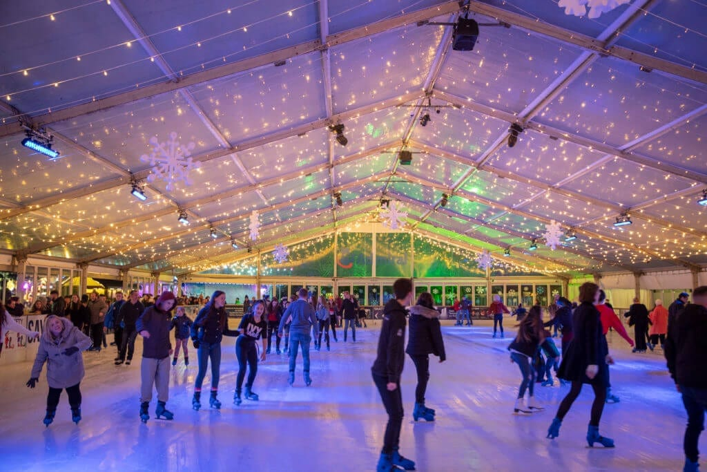 Blue self storage - Winter Wonderland ice rink