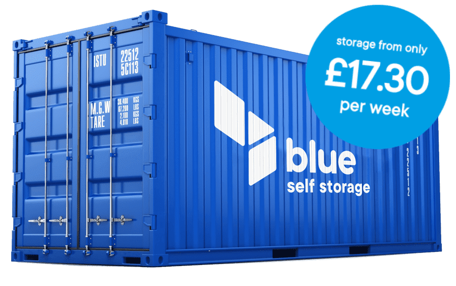 Llanishen storage with blue self storage in Cardiff