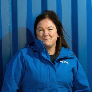 Roz, accounts team, blue self storage cardiff