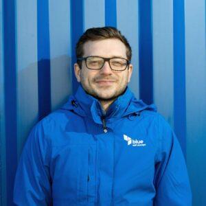 Adam, accounts team, blue self storage cardiff