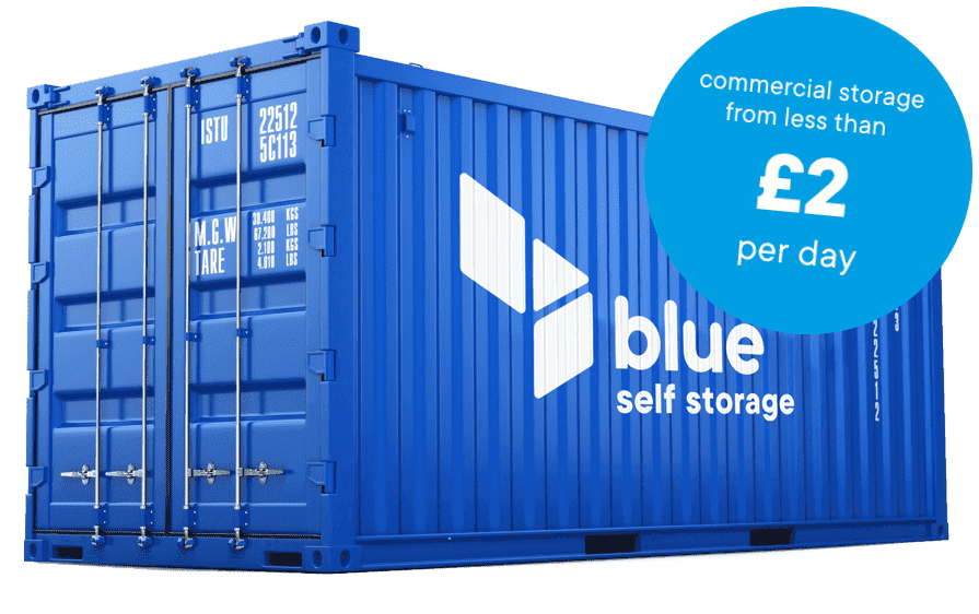 Commercial storage in Cardiff from less than £2 per day