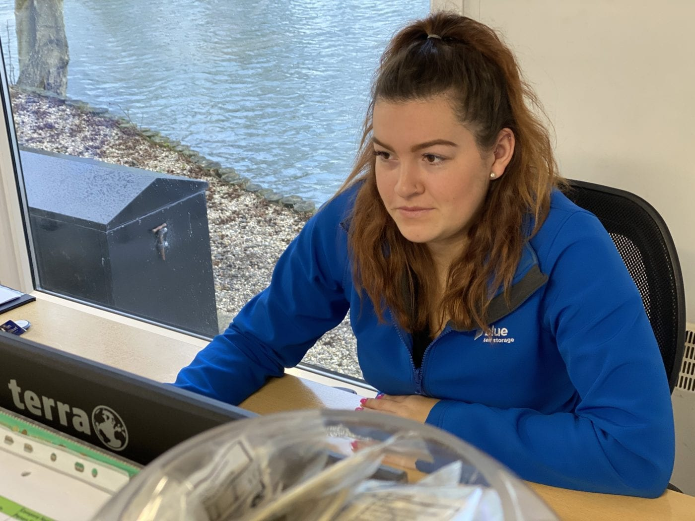Emily at blue self storage - email or phone to talk about storage for moving house