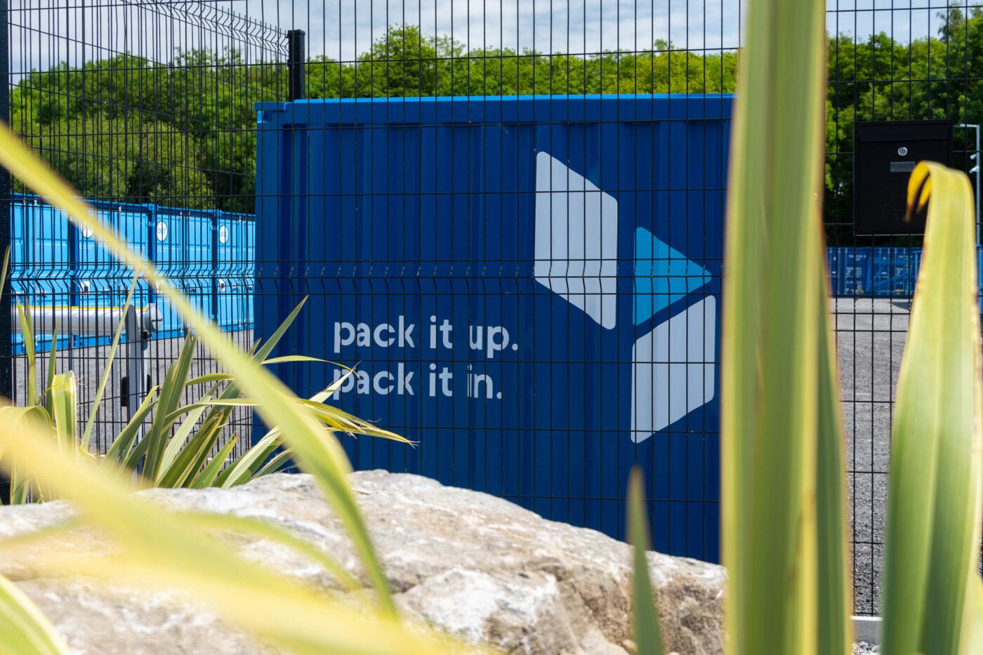 blue self storage facility updates - Cardiff and Tyneside storage